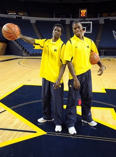 Michigan Men's Basketball Media Day, 10-13-09 | by The Ann Arbor News