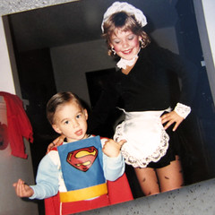 superman-costume-1984-ish-french-maid-80s-costumes | by ...love Maegan
