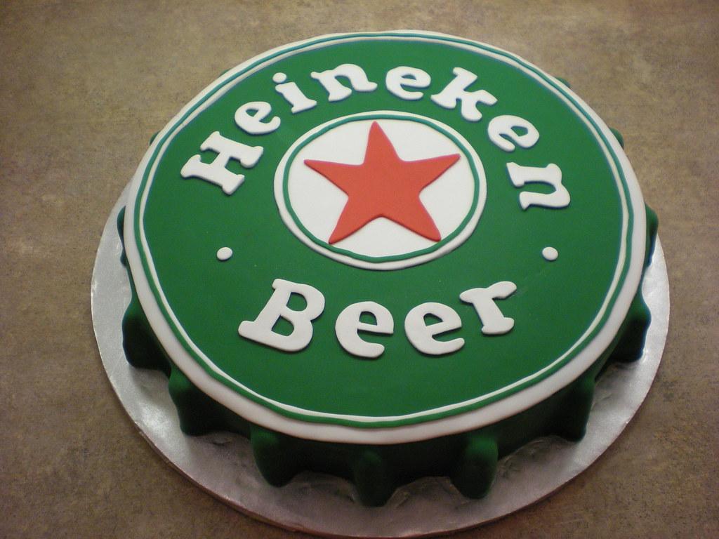Heineken Cake Images