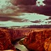 Colorado river flowing through a canyon - Page