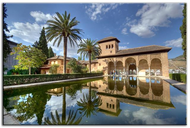 El Partal, La Alhambra de Granada.