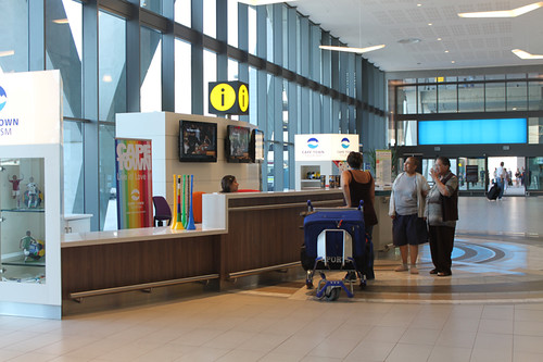 Cape Town Tourism counter, Cape Town International Airport | by flowcomm