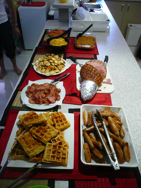 The Christmas breakfas...