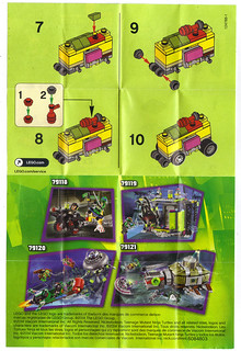 "LEGO TEENAGE MUTANT NINJA TURTLES :: ""Mikey's Mini-Shellraiser"", ..instructions ii (( 2014 ))"