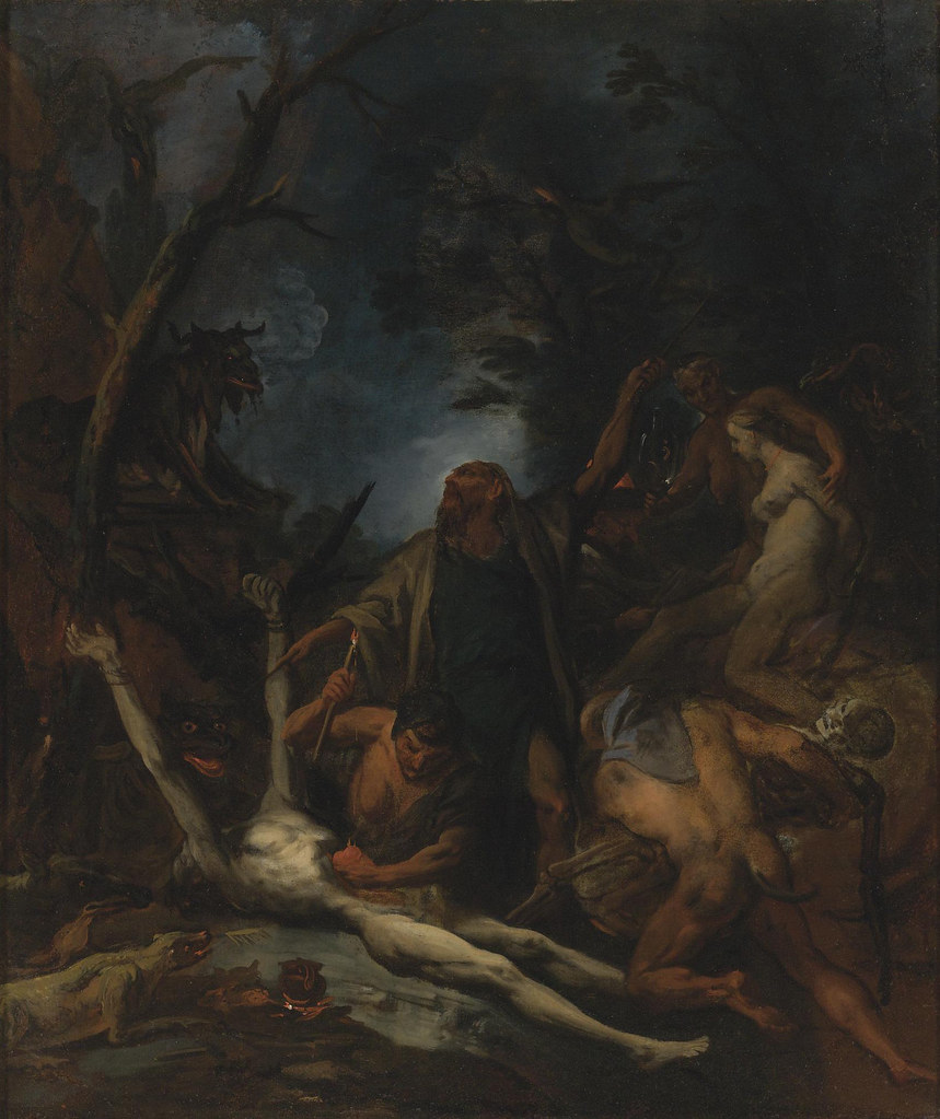 Ottaviano Dandini - Wicthes At A Black Mass, 18th Century
