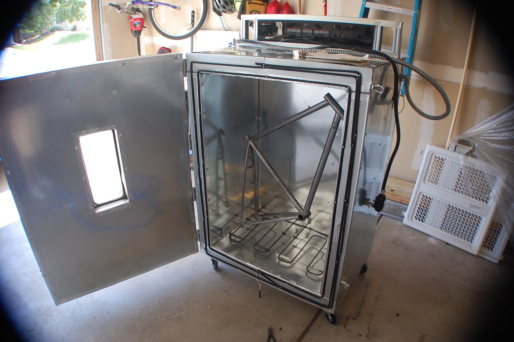 Diy Home Powder Coating Oven Home Built Diy Powder