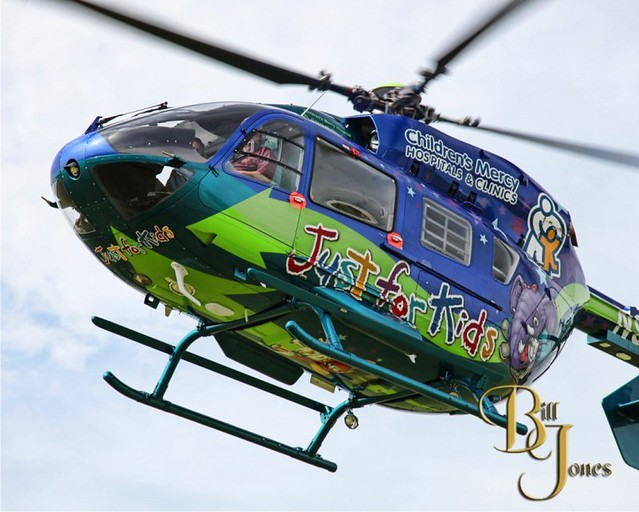 Childrens Mercy hospital helicopter by Scribe | Custom ...