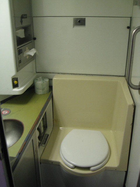 California Zephyr Amtrak Bathroom Like Airplane Flickr Photo Sharing
