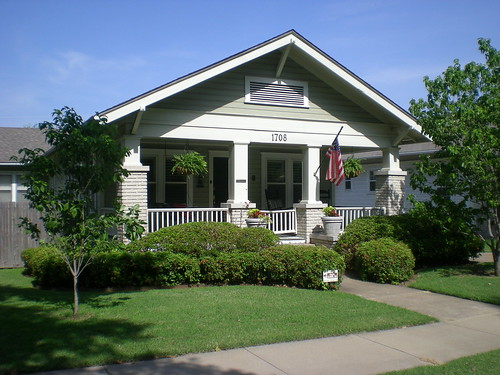 Craftsman bungalow tulsa oklahoma edition of one flickr for Craftsman style homes in okc