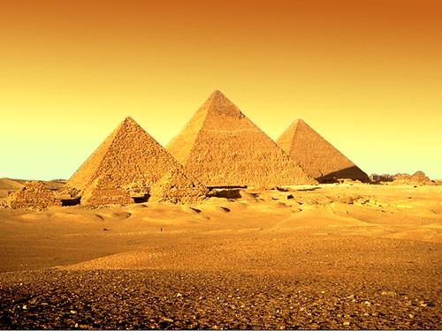 Golden Pyramids | by Imran Khan - Always Pakistan First