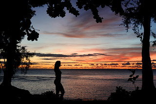 Kauai Silhouette at Sunset | by ThunderKiss Photography