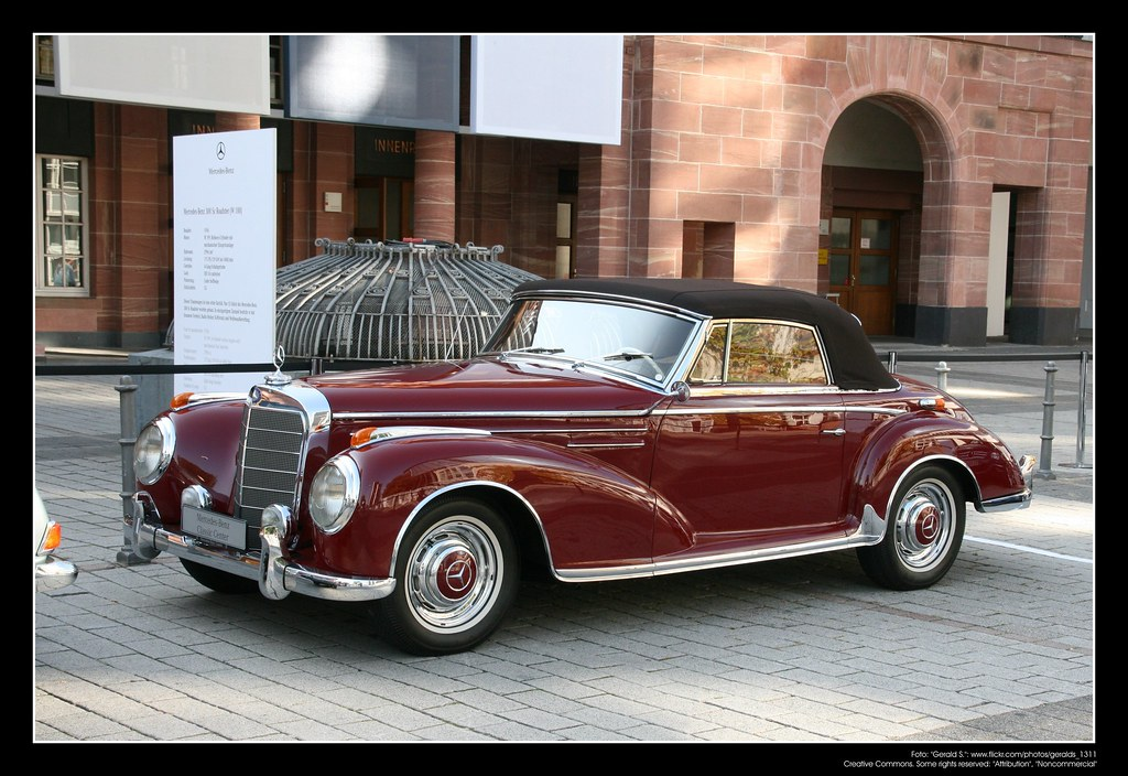1955 Mercedes 300 Sc 04 The Mercedes Benz Type 300