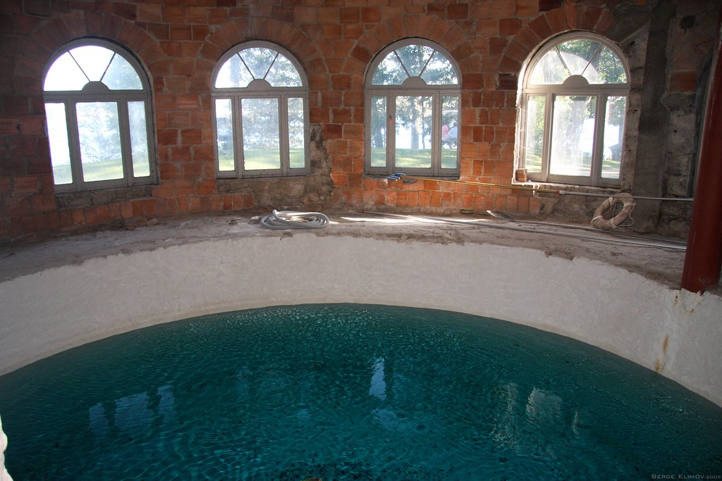 Pool, Boldt Castle - 1000 Islands, NY | The basement is ...