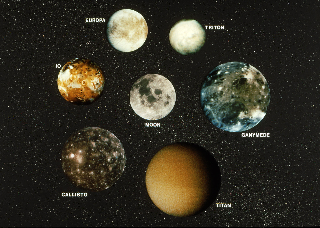 what are largest largest moons - photo #1