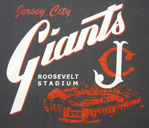 Giants >> Jersey City Giants baseball. NJ Roosevelt Stadium | Jersey C… | Flickr