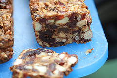 fruitcake bars | by David Lebovitz