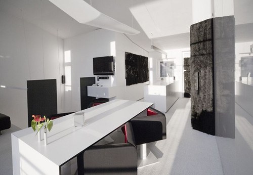 Combination small apartment modern office combination for Bbdo office design 9