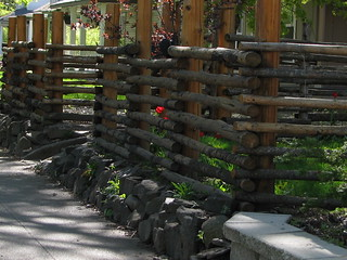 Log fence | by Enjoy the journey...in Spokane