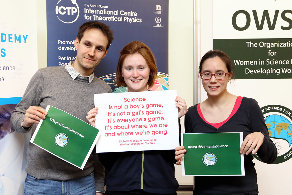 Day of Women and Girls in Science   Celebration at ICTP ...