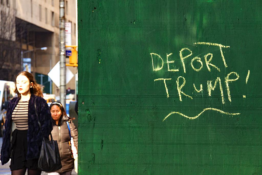 DEPORT TRUMP--New York
