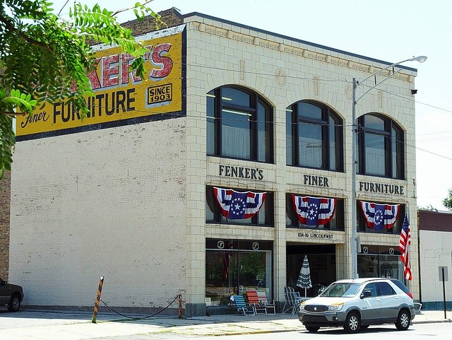 Old fenker 39 s finer furniture building la porte indiana for Laporte indiana news