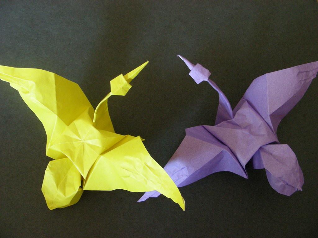 Origami Crane Design By Eric Joisel