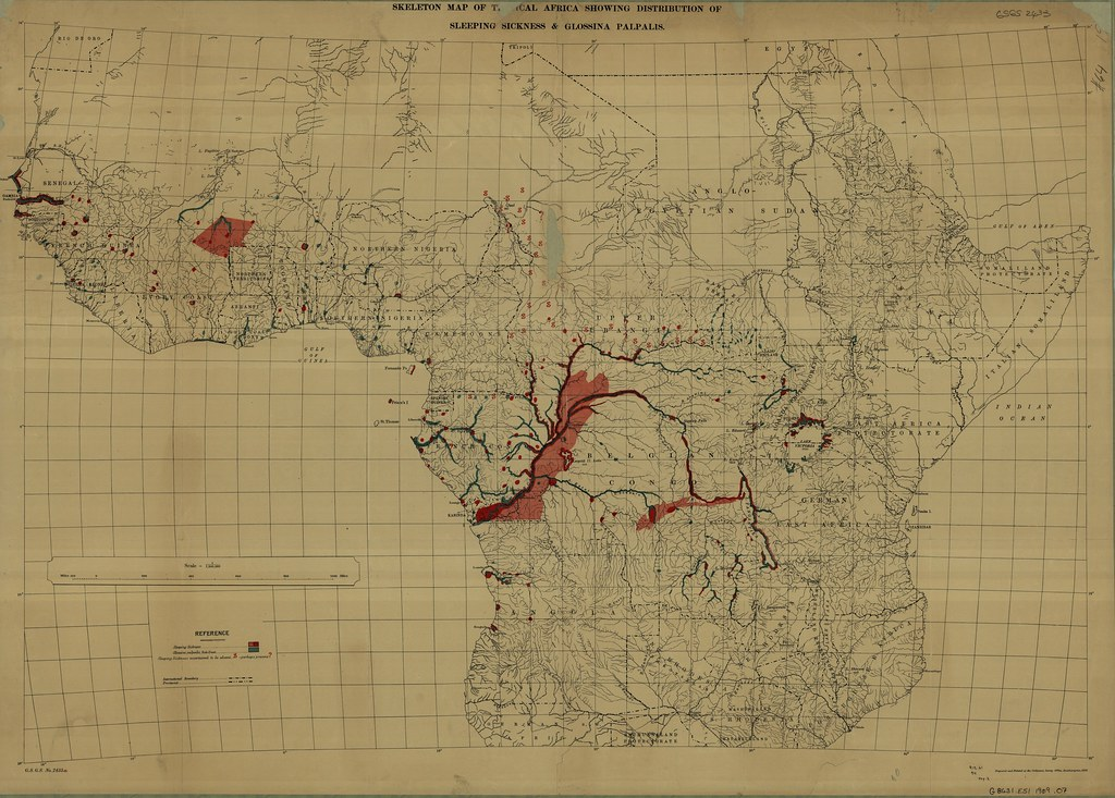 Skeletal Map Of Tropical Africa Showing Distribution Of Sl Flickr