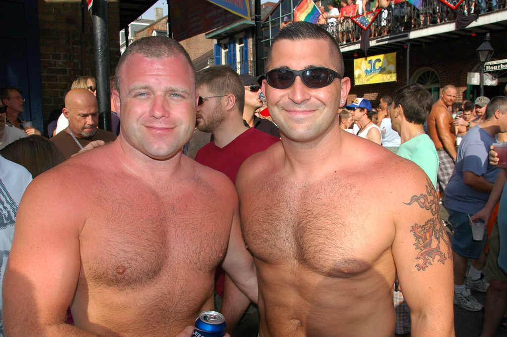 Men At Southern Decadence Nude - Hard-Core Image-6118