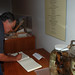 Jere Lipps signs the guestbook