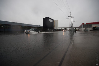 81st Ave Oakland flooding | by mr. nightshade