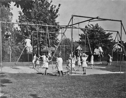 Playground On Queen Anne 1925 Item 63996 Ben Evans