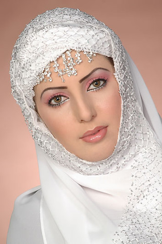 Free wedding dress images - Bridal Hijab And Makeup Mona White Hearted Flickr
