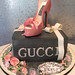 Gucci Shoe on Shoe Box