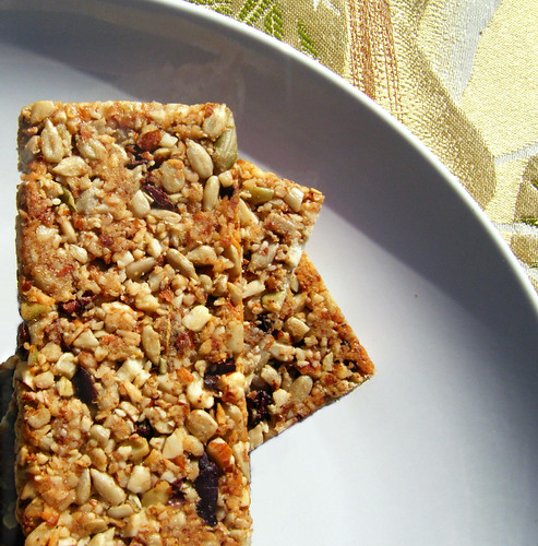 Healthy, Homemade Granola Bars | by HealthyIndulgencesBlog