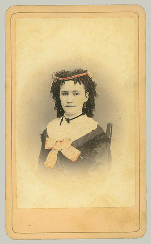 CDV portrait of young woman