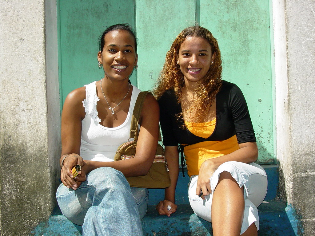 Young Women In The Streets Of Salvador - Brazil  Adam -8161