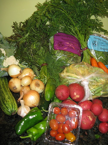 What's in CSA box #7 | by katbaro