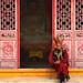 tibetian monk
