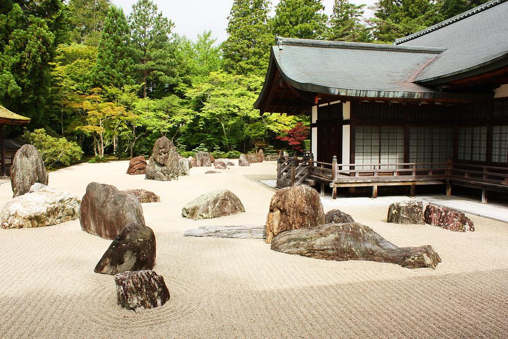 Banryu tei rock garden kongobu ji largest rock garden for Giardino 3d gratis italiano