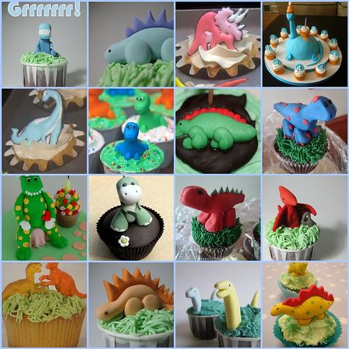 Dinosaur Cupcakes  1. Dinosaur Birthday Cupcakes, 2. Dinosa ...