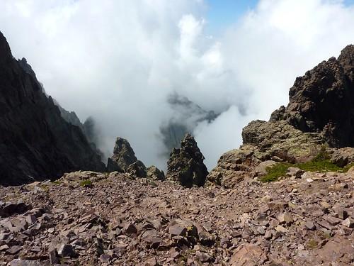 Bocca di Serra Pianella : le Filosorma dans la brume
