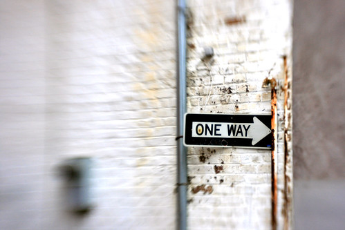 One way | by QuinnDombrowski