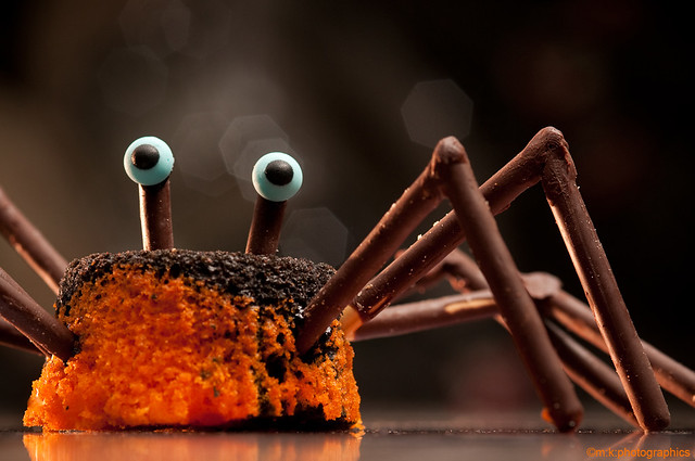 Creepy Crawly Cupcakes Entry For Cupcake Hero October Ch Flickr
