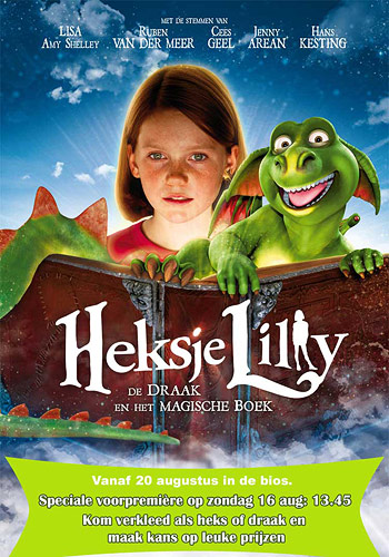 Movie Poster create a movie poster free : Heksje Lilly - De Draak en Het Magische Boek movie poster ...