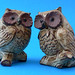 Vintage Owl Pottery Salt and Pepper Shakers