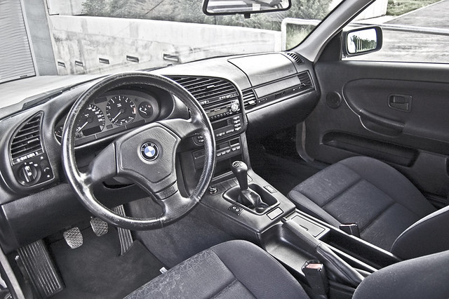 ... Interior BMW E36 318is | By 100le