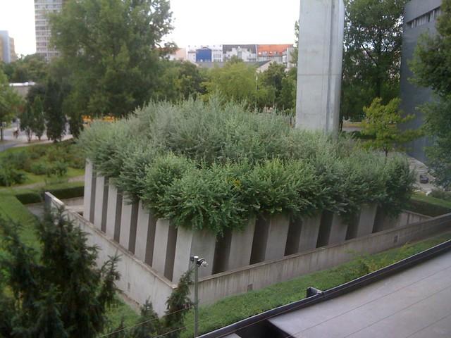 Mus e juif de berlin vue sur le jardin de l 39 exil flickr for Le jardin zoologique de berlin