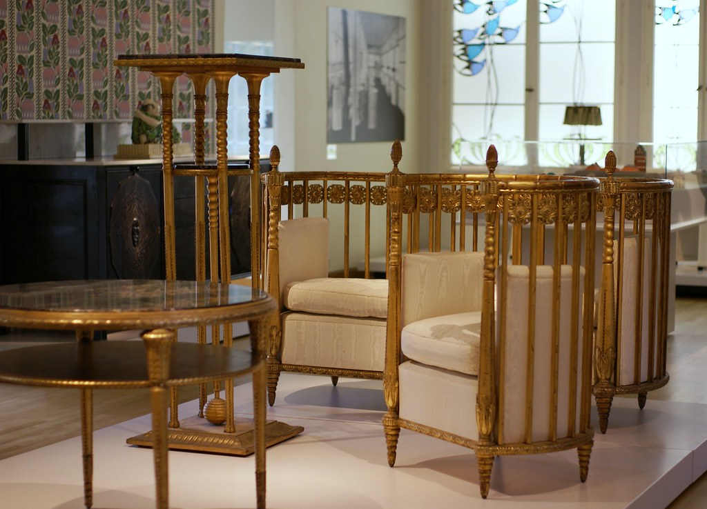 darmstadt mathildenh he museum k nstlerkolonie sitzgrup. Black Bedroom Furniture Sets. Home Design Ideas