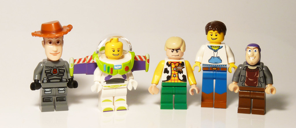 7590 woody and buzz to the rescue lego toy story fig - Lego toys story ...