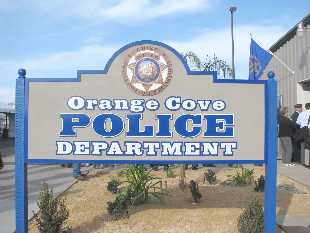 orange cove police department  orange cove  california